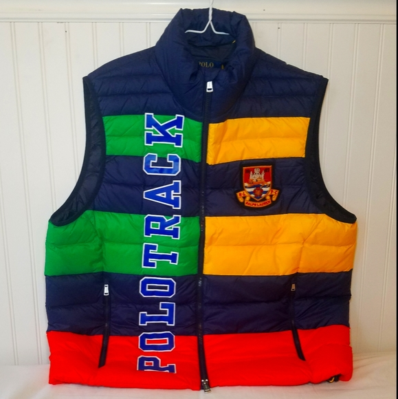 Polo Ralph lauren 'Polo Track' Packable Vest